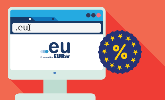 Get domain .EU for only €3,75