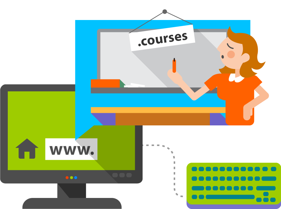 COURSES Domain Names
